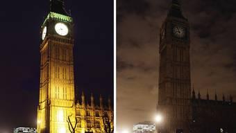 «Earth Hour»: Eine Stunde lang gingen Millionen Lichter aus