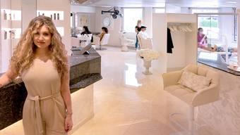 Bei Gina Karpf sind nicht nur Hairstylisten und Zahnärzte unter einem Dach.