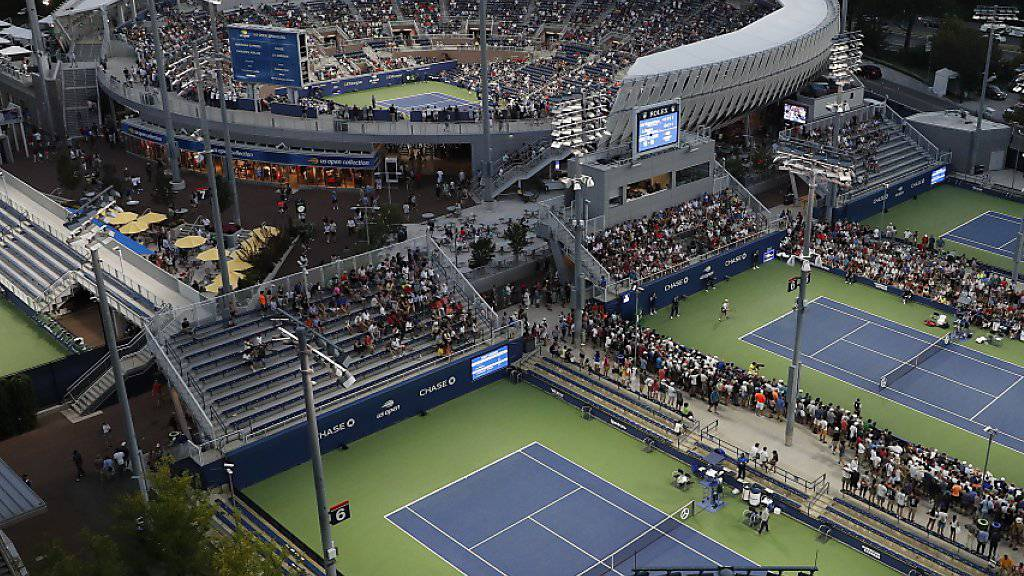 Das Gelände des US Open in Flushing Meadows
