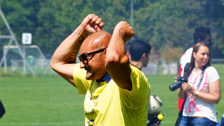 Antonio Caputo ist emotional wie YB-Trainer Uli Forte