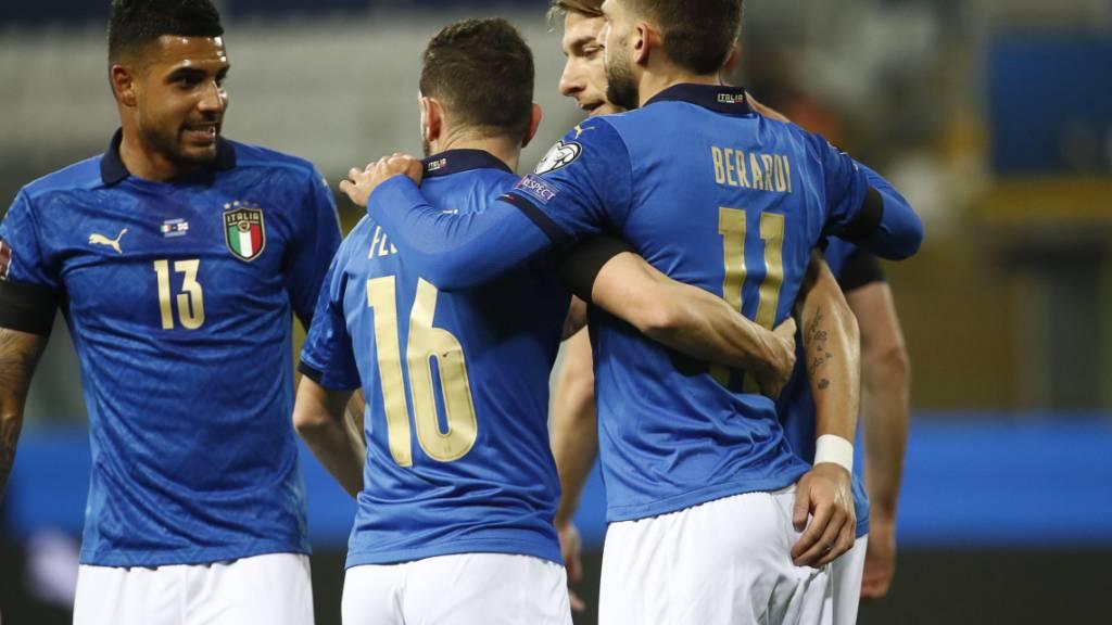 Zwölf positive Fälle - Squadra Azzurra als Corona-Hotspot