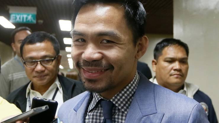 Manny Pacquiao lässt die Fans über seinen nächsten Gegner abstimmen