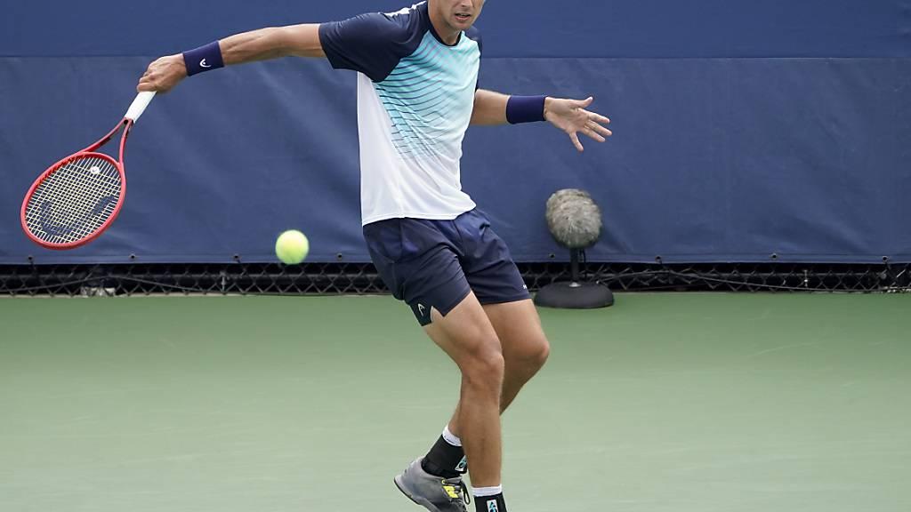 Henri Laaksonen steht erstmals am US Open in der 3. Runde