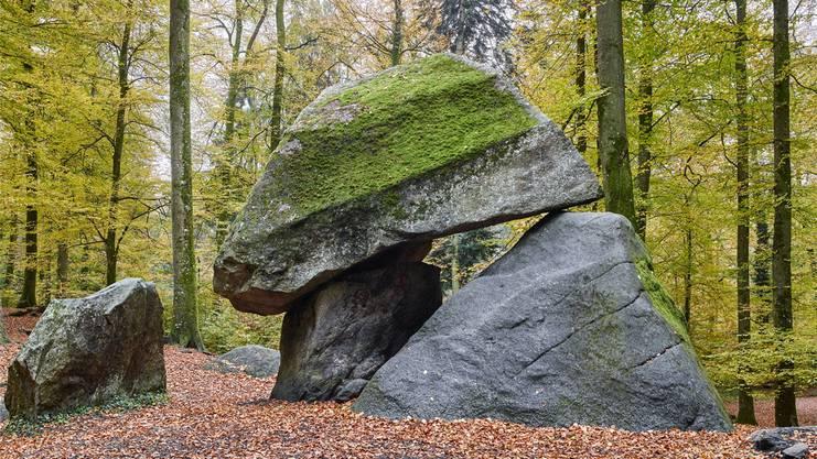 Steinreicher Aargau: Dazu gehört der Erdmannlistein in Bremgarten.