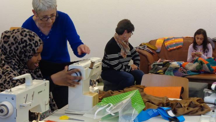 Ein Nachmittag im Werken, Spielen, Geschichten - Atelier