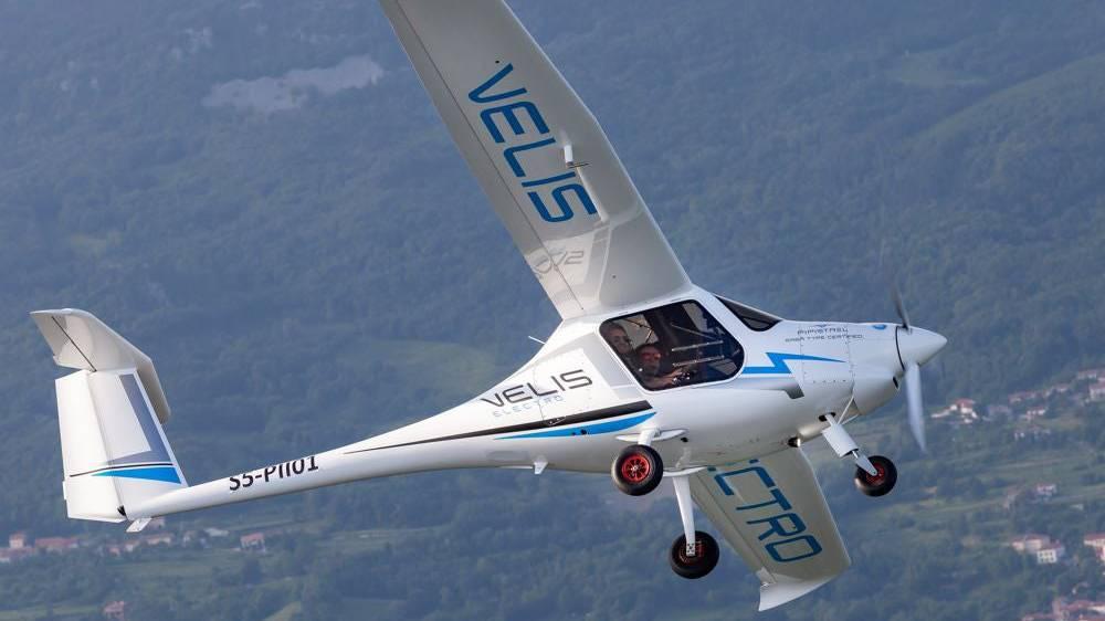 Für einen Flug mit der Velis Electro muss man keine CO2-Abgabe bezahlen.