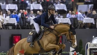 Steve Guerdat und Victorio traten in Basel aus Aussenseiter an, gewannen aber dennoch die beiden wichtigsten Prüfungen.