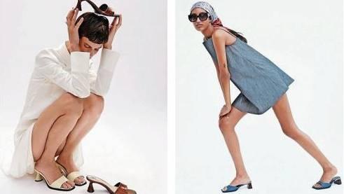 Die Models von Zara präsentieren die Kleidung auf skurrile Weise.