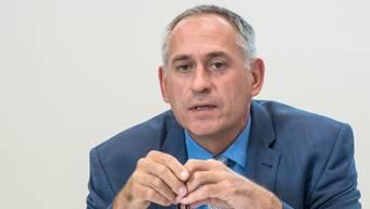 Quadratur des Kreises: Mit seinen Ideen für den Richtplan Mobilität hat Verkehrsdirektor Hans-Peter Wessels einen schweren Stand.