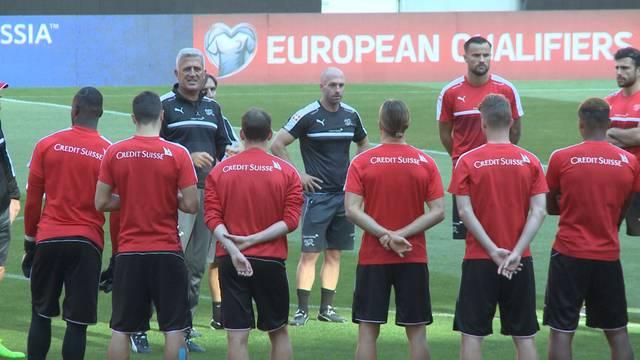 Letztes Training vor dem WM-Quali-Showdown