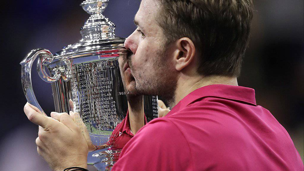 Stan Wawrinka triumphierte erstmals am US Open in New York
