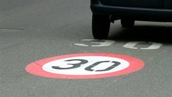 Darf man auf der Eggstrasse bald nur noch 30 fahren? (Symbolbild)
