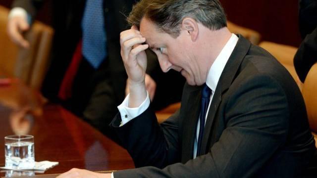 Ist Premier David Cameron aus dem Haus, tanzen die Tories