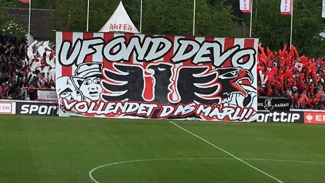 Der FC Aarau hat den Barrage-Platz auf sicher!
