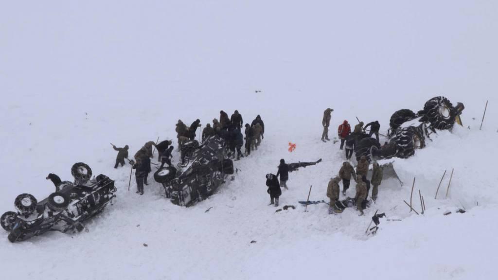 Mindestens 28 Tote bei zwei Lawinen in Osttürkei