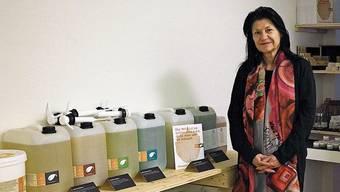 Brigitta Fend hofft, dass bald wieder mehr Kunden in ihren «Unverpackt»-Laden in Rheinfelden kommen.