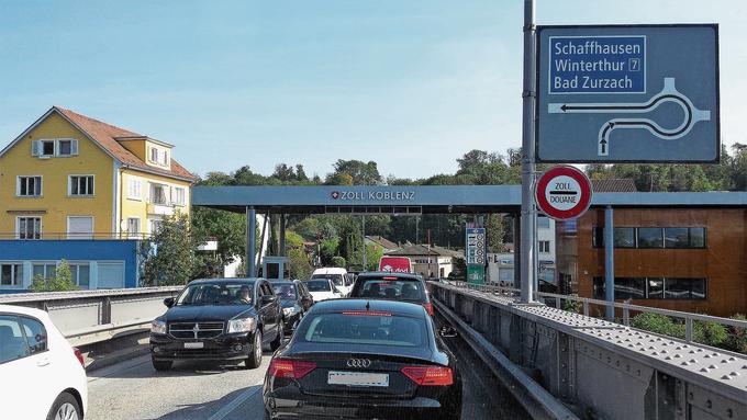 Zum Unmut des Koblenzer Gemeinderates ist der Grenzübergang seit 2015 nicht mehr Teil des Verkehrskonzepts Oase.