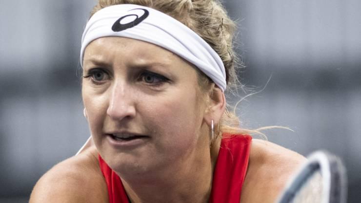 Konnte die Schweizer Niederlage nicht verhindern: Timea Bacsinszky