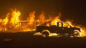 Waldbrand in Kalifornien zerstört Stadt