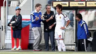 Yoichiro Kakitani in seinem ersten Spiel für den FC Basel
