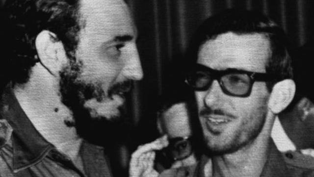 Gutierrez-Menoyo (r.) mit Fidel Castro 1959 in Havanna