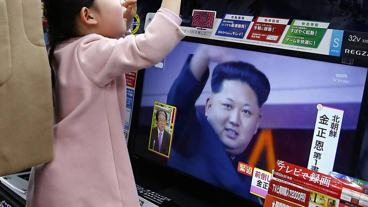 Ein neuerliche Raketentest Nordkoreas sorgt für Aufsehen in umliegenden Länder wie Südkorea und Japan. (Archivbild)