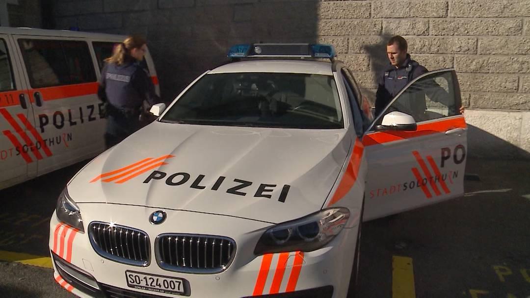 Streit um Polizeilöhne im Kanton Solothurn
