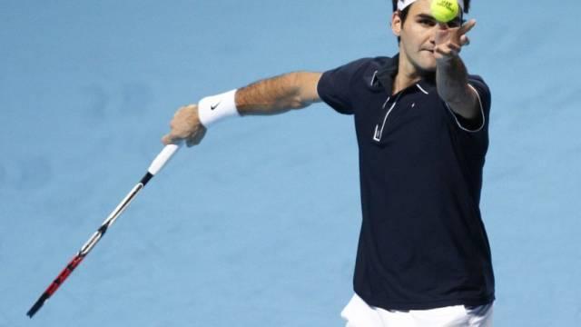Roger Federer nimmt Masters-Halbfinals in den Fokus