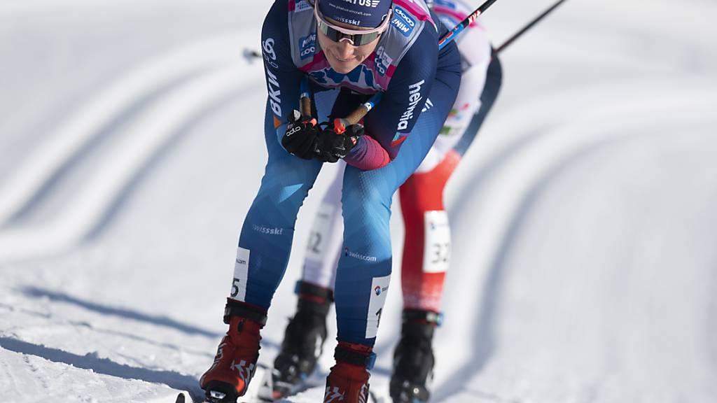 Nadine Fähndrich lief zum Abschluss der Weltcup-Saison auf Platz 10