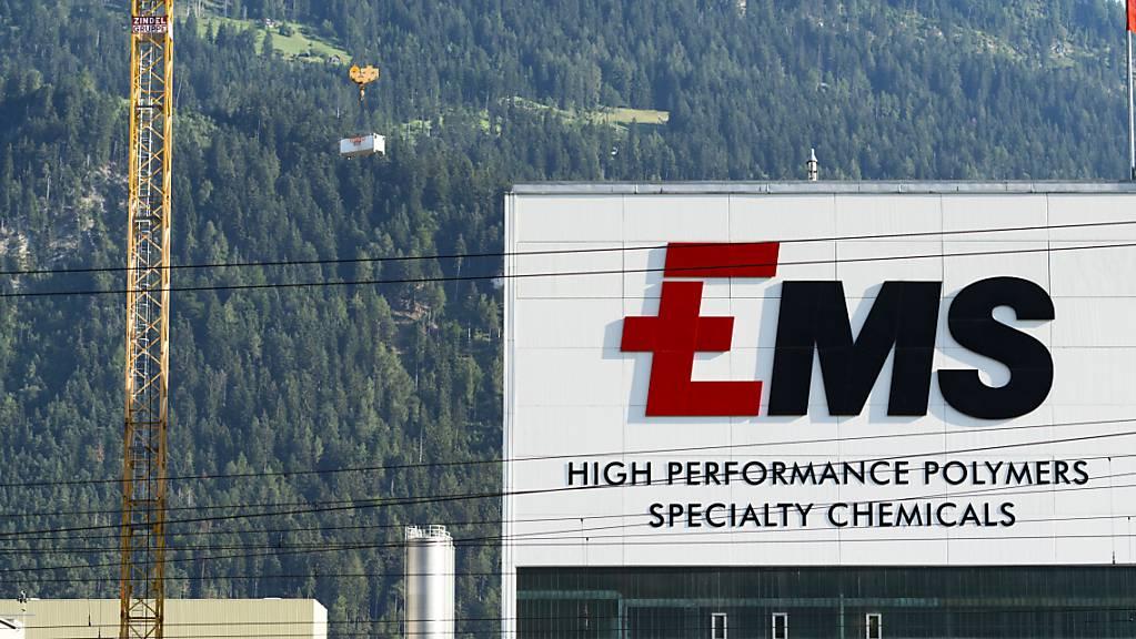 Der Spezialchemiekonzern Ems ist gut in das neue Jahr gestartet. Der Umsatz kletterte im ersten Quartal 2021 um 14 Prozent in die Höhe.(Archivbild)