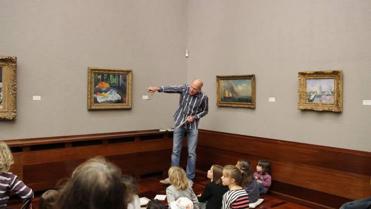 Langmatt-Direktor Markus Stegmann. Der Zugang zur Kunst bei Kindern ist nicht so abstrakt wie bei Erwachsenen