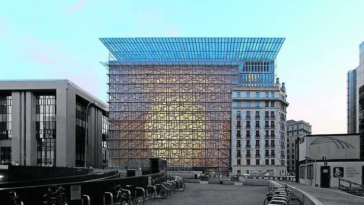 Hier tagen die Staats- und Regierungschefs der EU: das Gebäude namens Europa in Brüssel.
