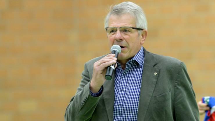 Grosse Ehre: Sm'Aesch Pfeffingens Präsident Werner Schmid wurde ausgezeichnet.