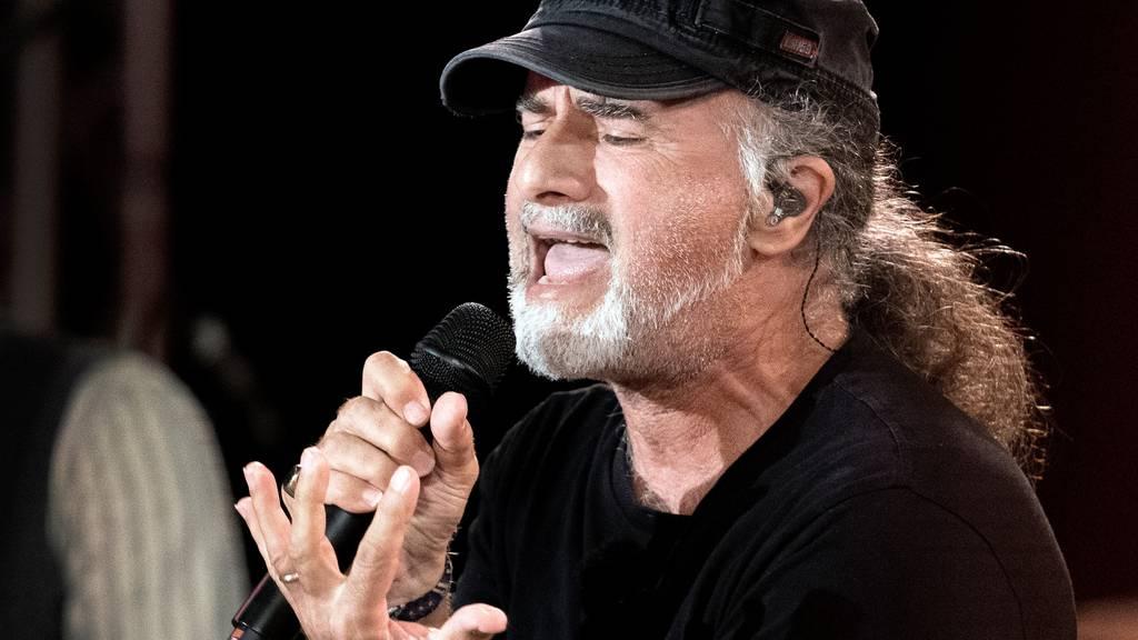 Marc Storace singt «Irgendeinisch»