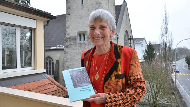 Dora Weissenbach hatte im Januar und Februar ihr wöchentliches Walking-Training direkt auf die Strassen Bremgartens und Zufikons verlegt.