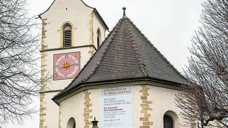 Die alte Dorfkirche in Allschwil muss saniert werden.