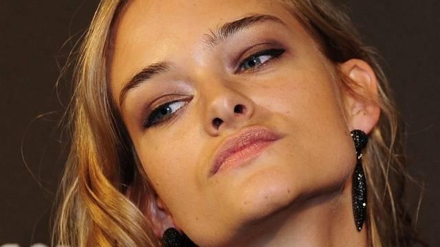 Kann ihren Kurzfilm in Cannes zeigen: Model Nadine Strittmatter (Archiv)