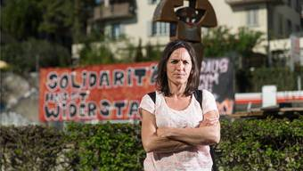 Die baskische Politikerin Nekane Txapartegi