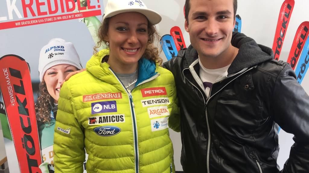 Ilka Stuhec auf den Spuren ihres Erfolges
