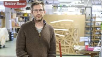 Matthias Böttger leitet das Hyperwerk in Basel seit 2017.