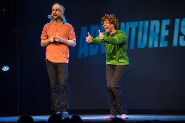 Stand-up- Comedy und Cabaret. Divertimento mit Manuel Burkart und Jonny Fischer ist aktuell das beliebteste Komikerduo der Schweiz.