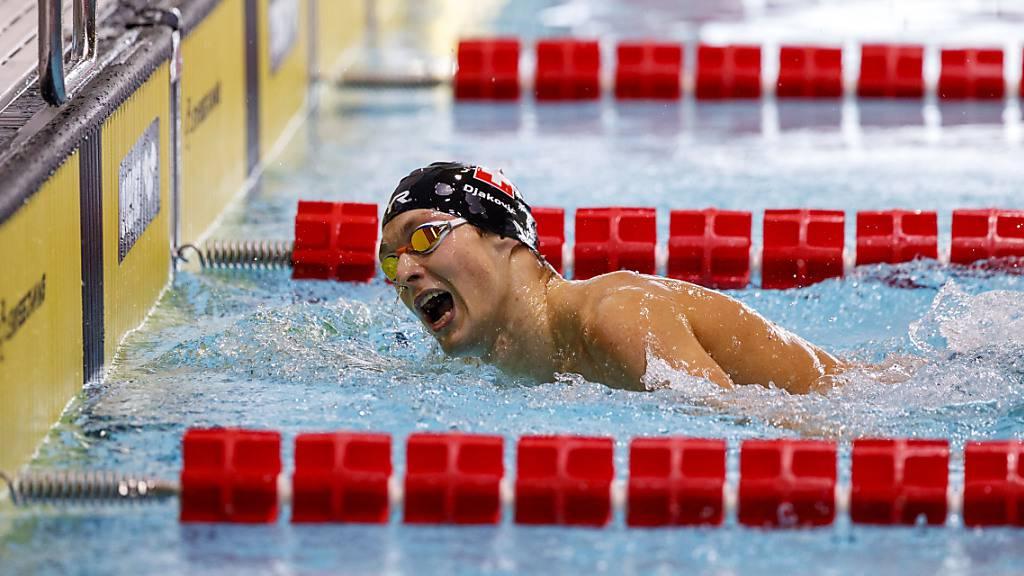 Antonio Djakovic mit Medaillen-Chancen über 400 m Crawl