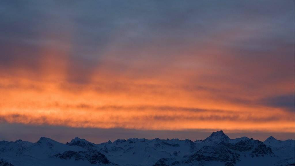 Traumhauftes Morgen- und Abendrot: Der Sahara-Staub könnte uns ein solches Bild ermöglichen.