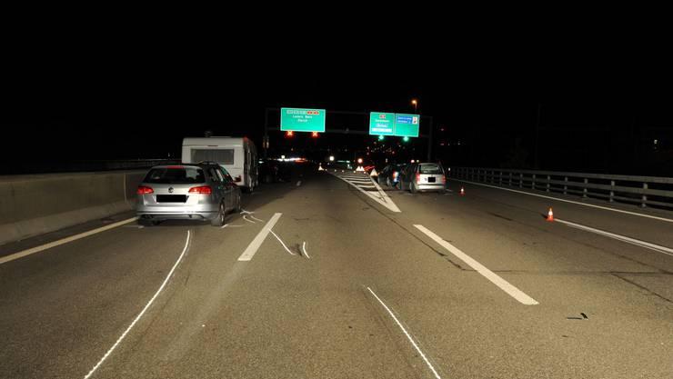 Der Unfall in Birsfelden vom 3.11.12. hatte gravierende Verkehrsbehinderungen zu Folge