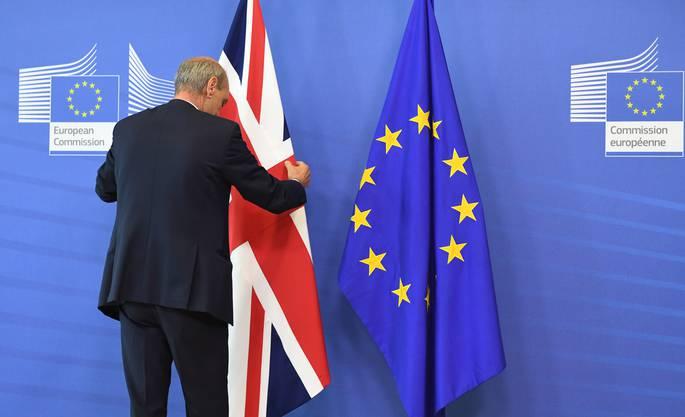 Die Briten sagten Ja zum aus Austritt aus der Europäischen Union. Die unterlegenen Gegner würden am liebsten nochmals abstimmen.  AP