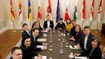 Die Parteispitzen der konservativen ÖVP und der Grünen haben sich auf ein gemeinsames Programm geeinigt. (Archivbild)
