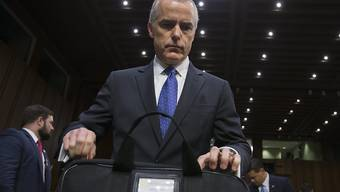Musste im US-Justizministerium seine Sachen packen: EX-FBI-Vizechef Andrew McCabe. (Archivbild)