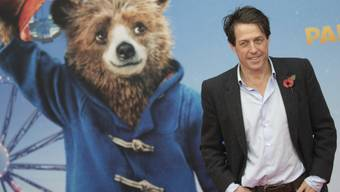 "Hugh Grant feiert am 12. November in Berlin die Deutschlandpremiere des Films ""Paddington 2""."