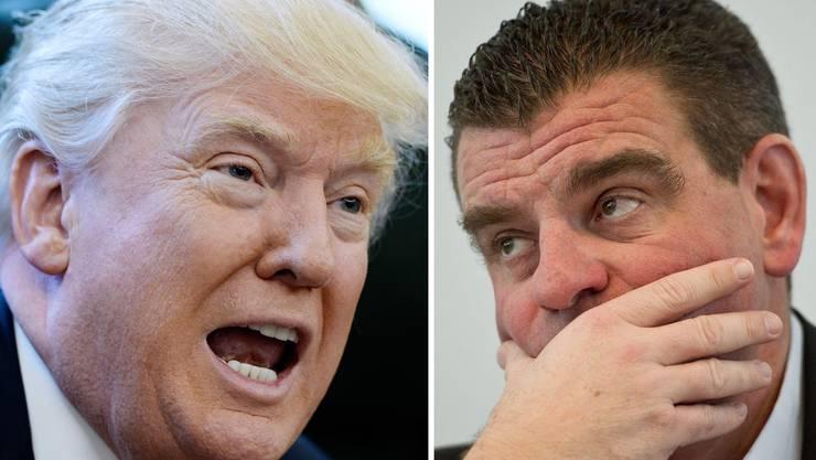 Peter Spuhlers Stadler Rail hat Probleme mit einem Entscheid der US-Regierung um Donald Trump.