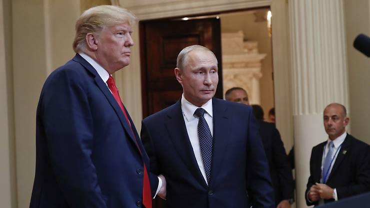 Sonderermittler Robert Mueller untersucht die Einflussnahme aus Russland auf die US-Wahlen 2016. Wladimir Putins Russland soll Trump illegal unterstützt haben – in Absprache mit diesem.